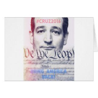 Ted Cruz - wir die Leute Karte