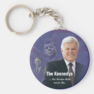 Ted Kennedy mit JFK und RFK Schlüsselring Schlüsselanhänger