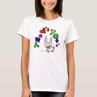 Ted-Lieben Sie T-Shirt