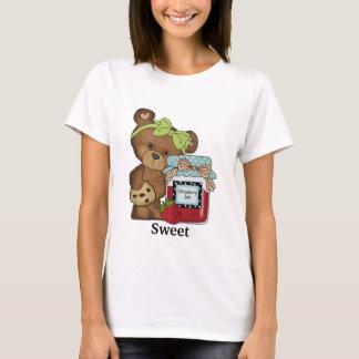 Teddy-Bär, der süßen T - Shirt einmacht