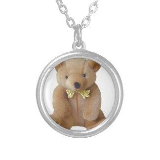 Teddy-Bärn-Baby, das Versilberte Kette
