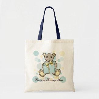 Teddy-Bärn-Baby-Dusche oder Budget Stoffbeutel