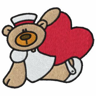 Teddy-Bärn-Krankenschwester gesticktes Shirt