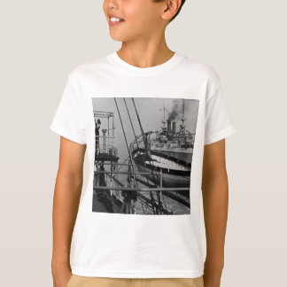 Teddy Roosevelt auf dem Mayflower T-Shirt