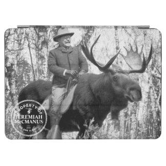 Teddy Roosevelt, der eine Stier-Elch-Gewohnheit iPad Air Hülle