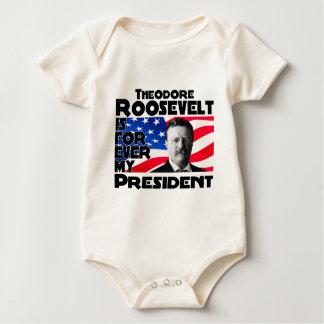 Teddy Roosevelt für immer Baby Strampler