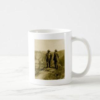 Teddy Roosevelt und John Muir am Gletscher-Punkt Kaffeetasse