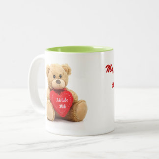 Teddy-Umarmungs-Tasse Zweifarbige Tasse