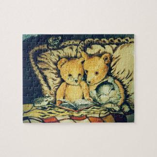 Teddybär-Ablesen Puzzle
