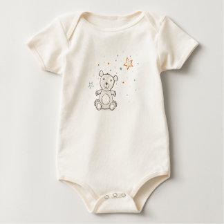Teddybär-Baby Strampelanzug