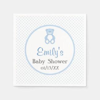 Teddybär-Babyparty-Papierservietten Servietten