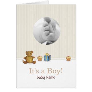 Teddybär Bear'n'Cupcakes Karte