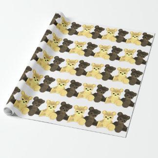 Teddybär Bearz Geschenkpapier
