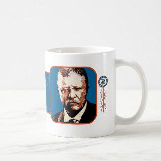 Teddybär-Blau - Theodore Roosevelt 5 Kaffeetasse