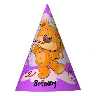 Teddybär-Geburtstag Partyhütchen