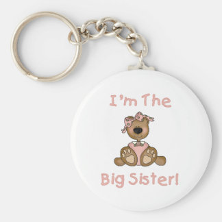 Teddybär-große Schwester Schlüsselanhänger