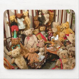 Teddybär-Kollektor-Paradies Mousepad