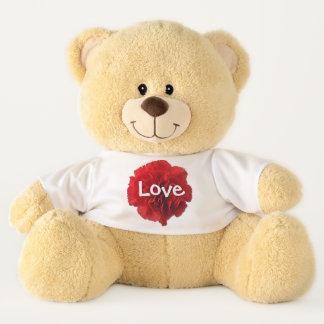 Teddybär - königliche rote Gartennelke
