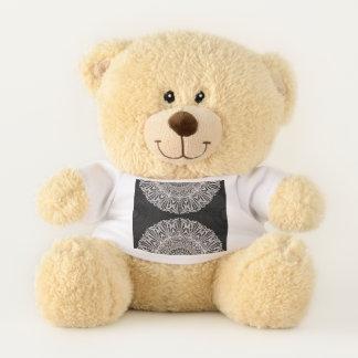 Teddybär-Mandala Mehndi Art G384 Teddybär