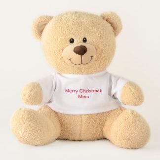 Teddybär mit Mammagruß