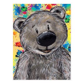 Teddybär-Postkarte Postkarten