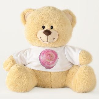 Teddybär- rosa und weißer Ranunculus