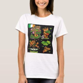 Teddybär-St Patrick Tagessammlung T-Shirt