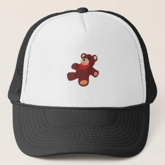 Teddybär Truckerkappe