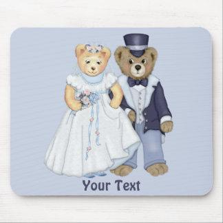 Teddybär Wedding - fertigen Sie besonders an Mousepads
