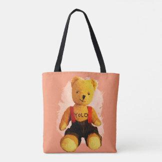 Teddybär Yolo Tasche