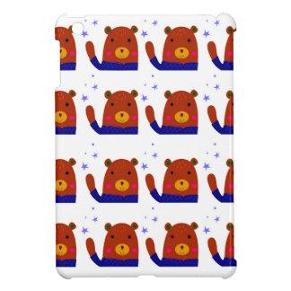 Teddybären entwerfen Braun iPad Mini Hülle