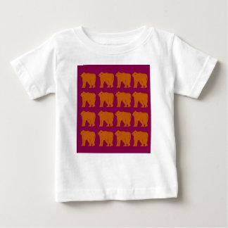 Teddybären polar auf Rosa Baby T-shirt