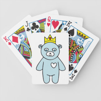 Teddybärkönig Bicycle Spielkarten