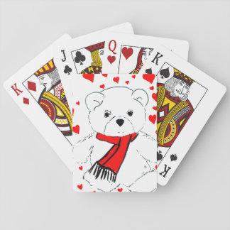 Teddybärn-Liebe Spielkarten