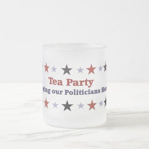 Tee-Party-politischer Gang-mattierte Tasse