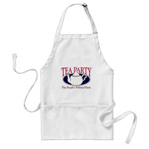 Tee-Party-Steuer-TagesSchürze Schürzen