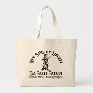Tee-Party-Taschen-Tasche - Licht Jumbo Stoffbeutel