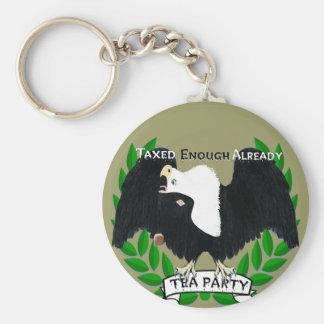 TEE Party-Versorgungen Schlüsselanhänger