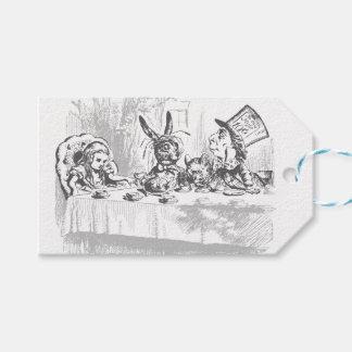 Tee-Party-Vintage Alice im Geschenkanhänger