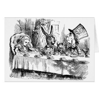 Tee-Partys u. Verrücktheit Karte
