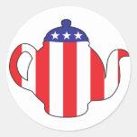 Tee-Partysymbol Aufkleber