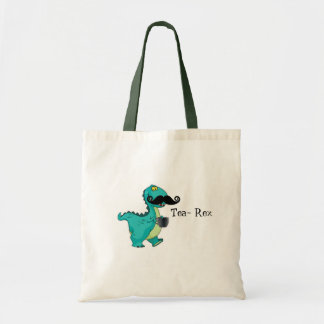 Tee Rex lustige Dinosaurier-Cartoon-Anspielung Tragetasche