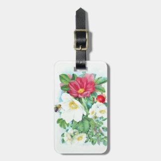 Tee-Rosenkunst Kofferanhänger