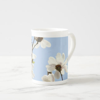 Tee-Schalen-kundenspezifische Natur-blauer Himmel-