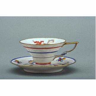 Tee-Tasse und Untertasse des 20. Jahrhunderts, Deu Photofigur