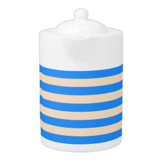 Tee-Topf: Dodger-Blau, Fischcremesuppen-vertikale