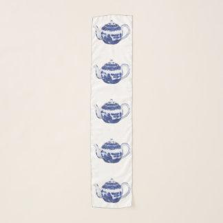 Tee-Topf-Schal-blaue Weide-Art Schal