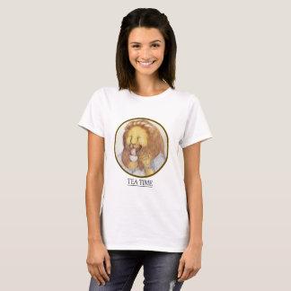 Tee-Zeit-Herr Lion T-Shirt