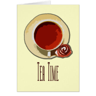 Tee-Zeit Karte