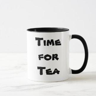 Tee-Zeit (rechte Hand) Tasse